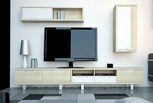 Les conseils pour installer sa tv chez soi et en profiter for Meubles bas salon contemporain