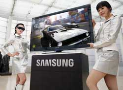 TV samsung 3D ready