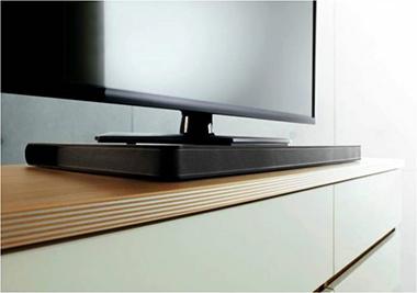 Les reflets et les angles de vision qui s 39 appliquent aux - Meuble tv samsung avec accroche barre de son ...